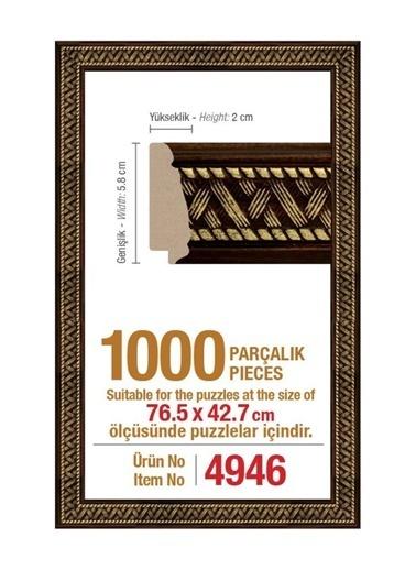 Heidi 1000 Parçalık Panorama Puzzle Çerçevesi 76,5 X 42,7 Cm 4946-Educa